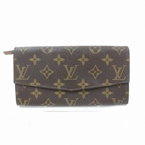 Auth Louis Vuitton Portefeuille Sarah #1825V10
